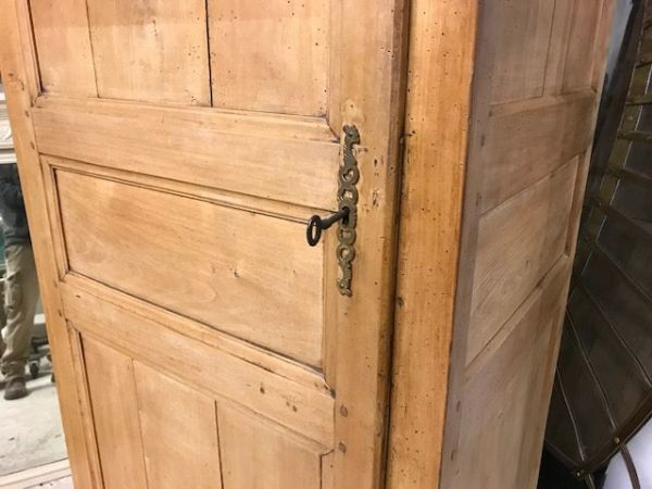 SOLD - Antique French Cupboard / Hall Cupboard / Small Armoire  - bv12